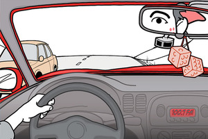 Distracted Driving and Risk of Road Crashes among Novice and