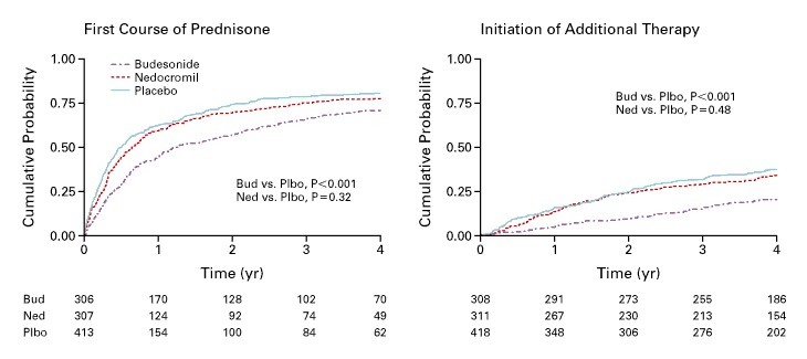 Long Term Effects Of Budesonide Or Nedocromil In Children With