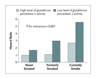 Glutathione Peroxidase 1 Activity and Cardiovascular