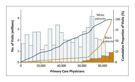 Primary Care Physicians Who Treat Blacks And Whites Nejm