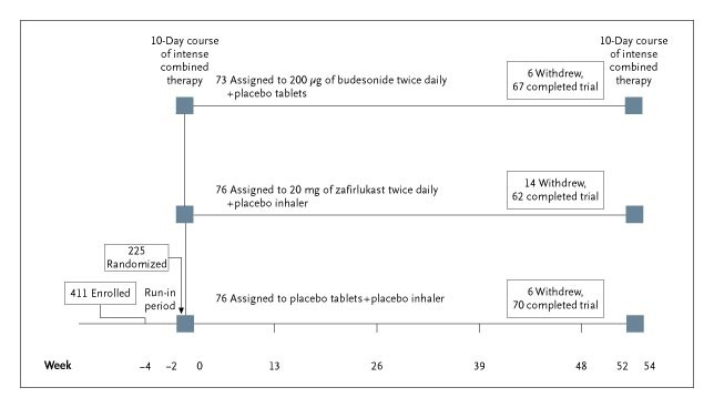 Daily versus As-Needed Corticosteroids for Mild Persistent