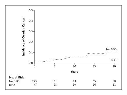 Prophylactic Surgery To Reduce The Risk Of Gynecologic Cancers In The Lynch Syndrome Nejm