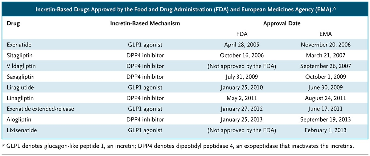Pancreatic Safety Of Incretin Based Drugs Fda And Ema Assessment