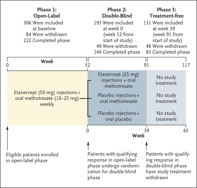 Sustained Remission with Etanercept Tapering in Early