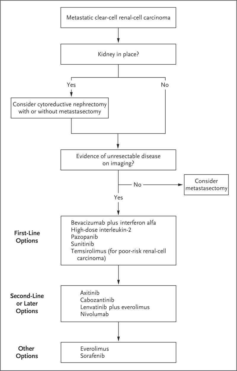 Systemic Therapy For Metastatic Renal Cell Carcinoma Nejm