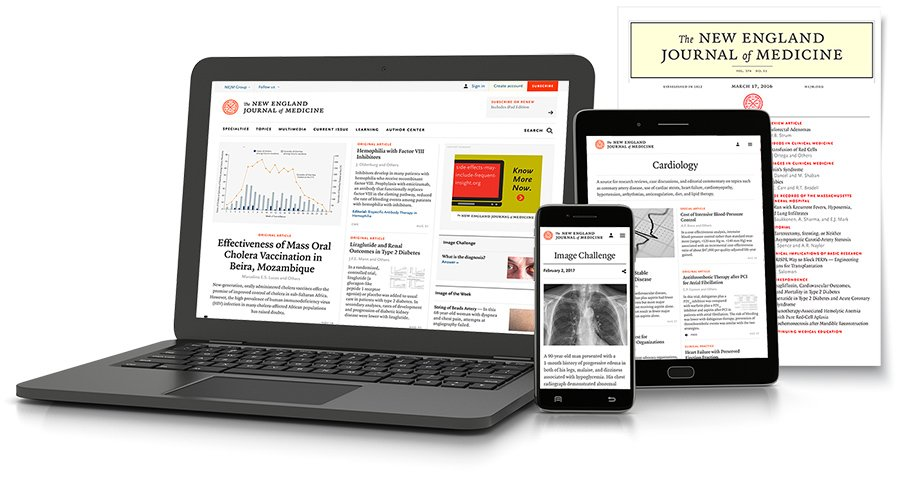 Individual Subscriptions | About NEJM